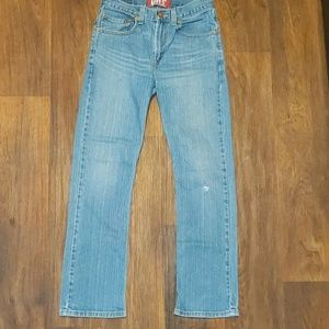 Levi's red tab slim straight jeans size 16 26/28